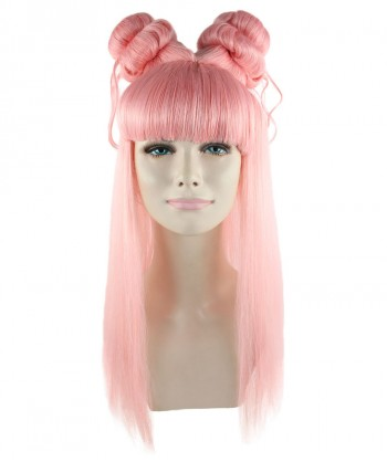 Halloween Party Costume Coral Asian Princess Wig HW-830