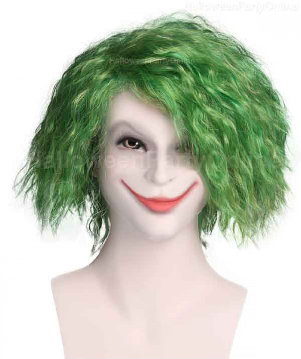 Wig for Cosplay Joker Green HM-044