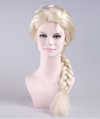Halloween Party Costume Wig for Cosplay Elsa HW-043