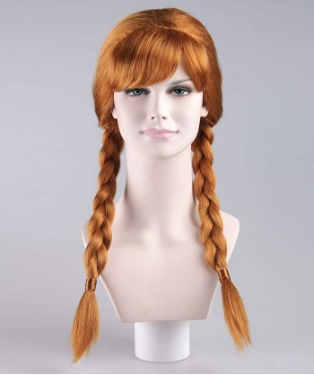 Halloween Party Costume Wig for Cosplay Anna HW-044