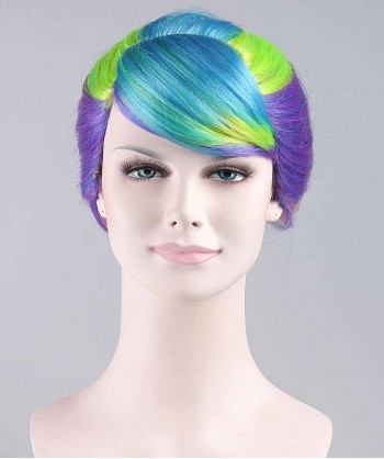 Halloween Party Costume Colorful Babe Sexy Wig HW-088