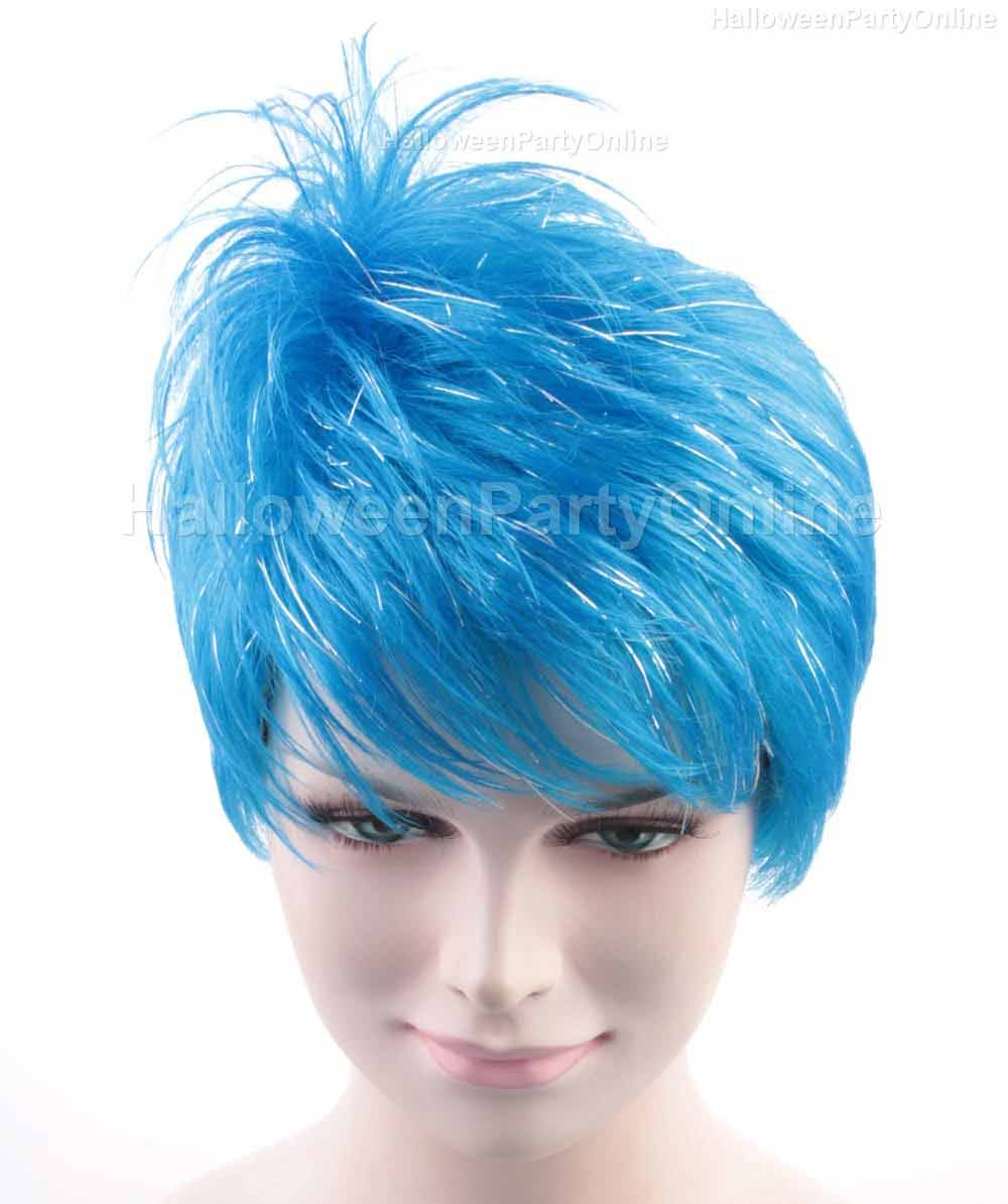 Wig for Cosplay Joy Blue HW-136