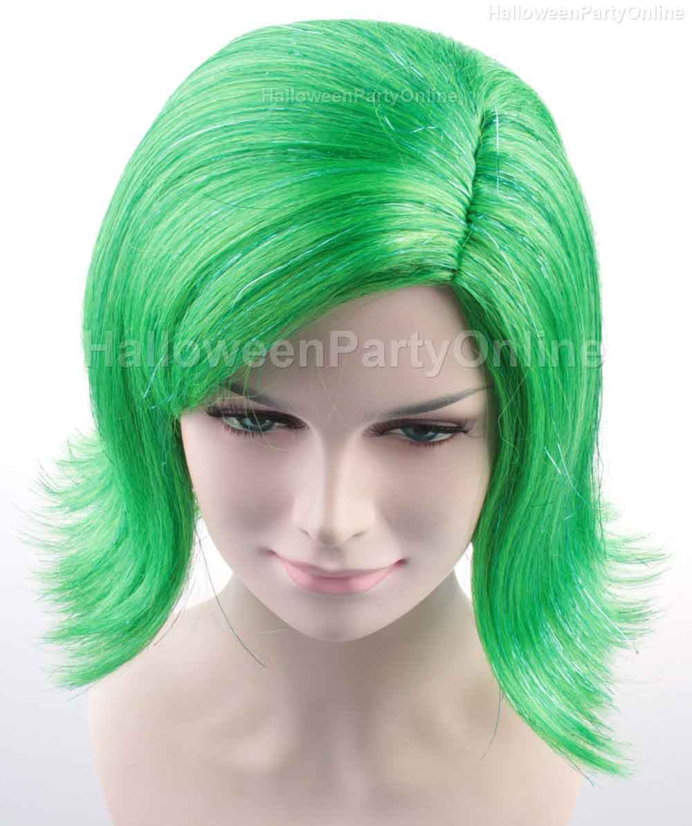 (1-2 Days Dispatch)  Wig for Cosplay Disgust Green HW-137