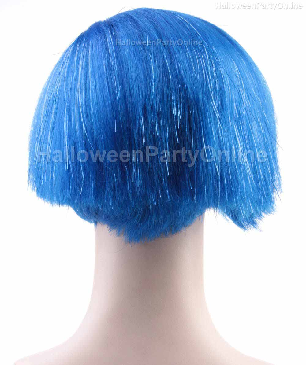 (1-2 days dispatch) Wig for Cosplay Sadness Blue HW-138