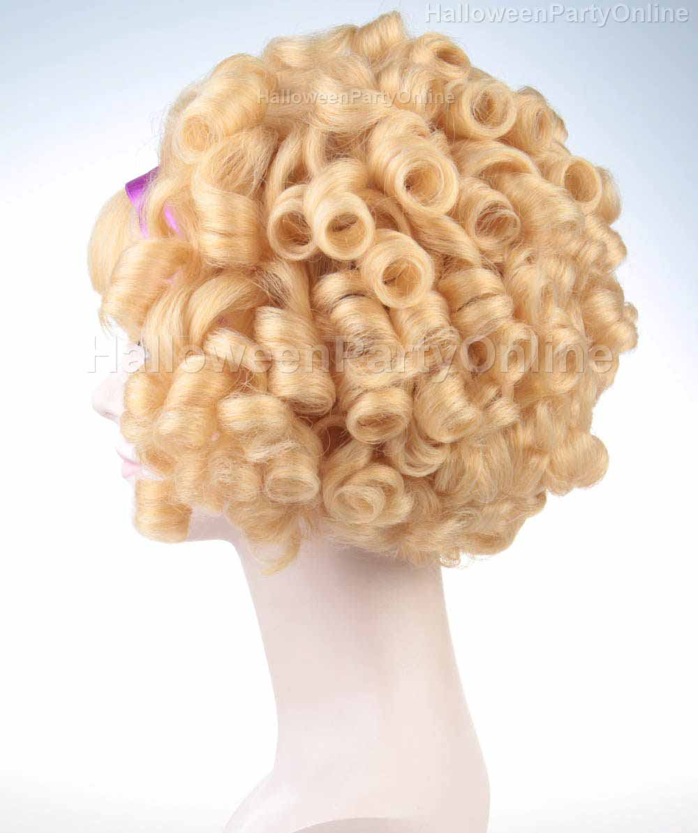 Wig for Cosplay Madge Curly HW-149